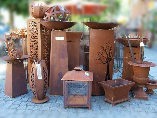 Garten deco for Rostiges eisen im garten